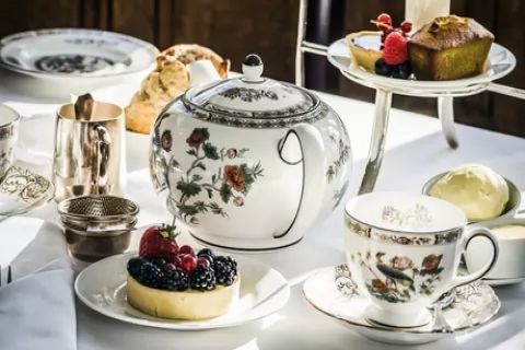 Afternoon Tea with an Optional Glass of Prosecco for Two or Four at AM:PM Bohemian...