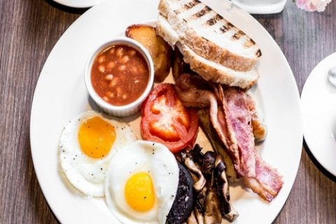 Large Breakfast with Tea or Coffee for Two or Four at AM:PM Bohemian Restaurant (35% Off)