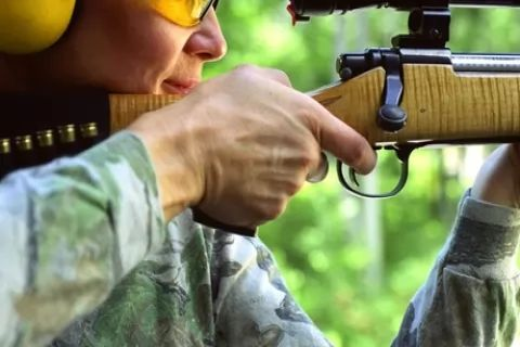 Air Rifle Sniper Range Experience with Ammunition for One or Two at GTS Adventure (Up to...