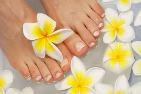 Luxury Manicure or Pedicure or Manicure or Pedicure with Optional Heated Mask Treatment...