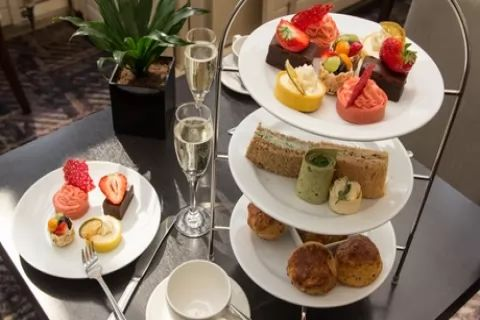 Choice of Afternoon Tea with Optional Prosecco for Two at Corus London Hyde Park (Up to...