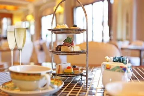 Classic Afternoon Tea with a Glass of Prosecco for Two or Four at Caledonian Hotel (54%...