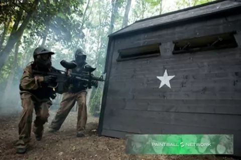 Paintball with 100 Balls and Light Lunch for Five, Ten or 15 at Paintball Networks,...
