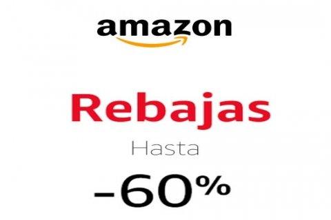 No acaban las REBAJAS en Amazon >> Hasta un -60% de dto. en cientos de productos