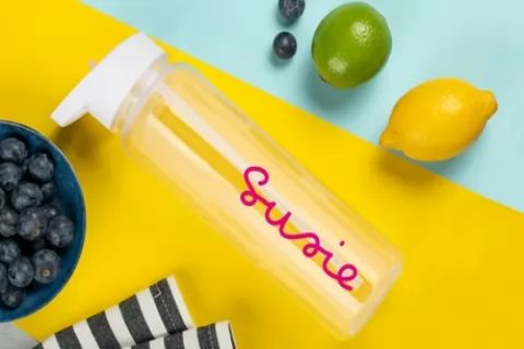 One or Two Personalised Water Bottles from Personalised Gifts Market (Up to 67% Off)