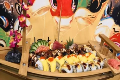 Japanese Afternoon Tea for Two or Four at Zoo Sushi