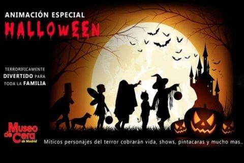 Entrada de día y de noche para niño o adulto al Especial de Halloween del Museo de Cera...