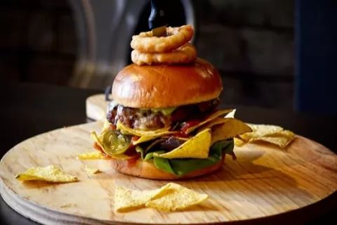 Choice of Burger, Wacky Dog or Wrap with Chips and Soft Drink for Two or Four at Big...