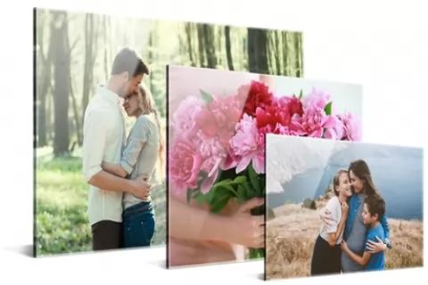 One or Two Personalised Acrylic Prints in Choice of Size from Photo Gifts (Up to 76% Off)