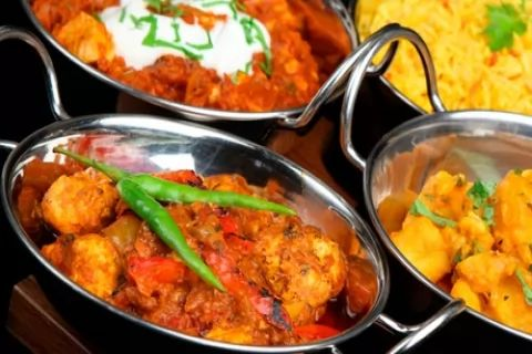 Two-Course Meal With Rice at Revivals Indian Restaurant