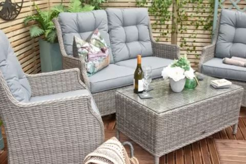 Rattan Garden Furniture - Flexible Finance Options Manageable monthly repayments