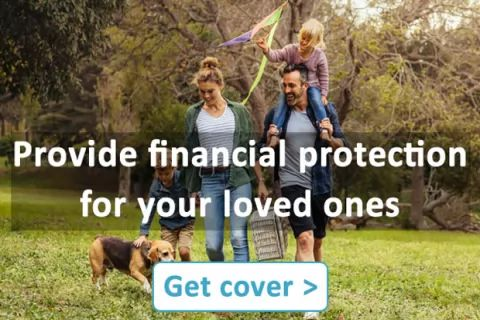 Affordable life cover to protect your loved ones. Find out more ➥