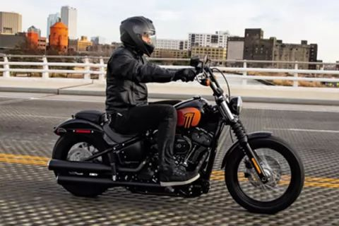 Try something new. Test ride a 2021 Harley-Davidson® cruiser.