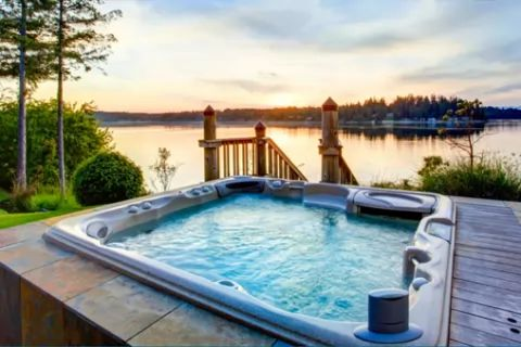 Self Catering Hot Tub Breaks → Book from £20 Per Night